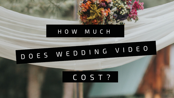 How much does wedding video cost?